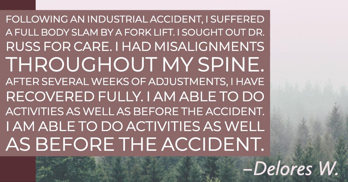 Delores W - Chiropractor Testimonial.jpg