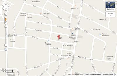 Google Map of Repbulic Bar & Grill
