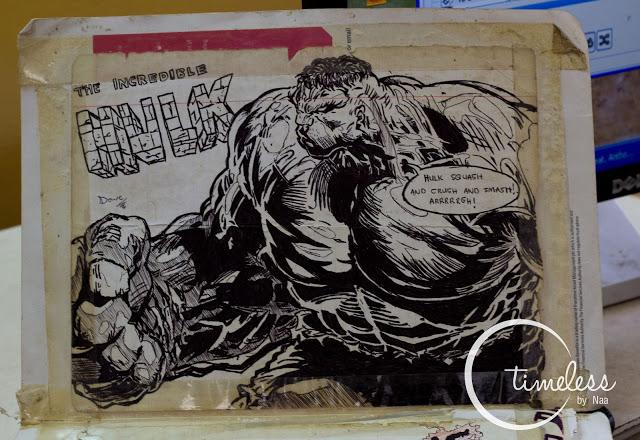 Hulk! SMASH! Awesome drawing!