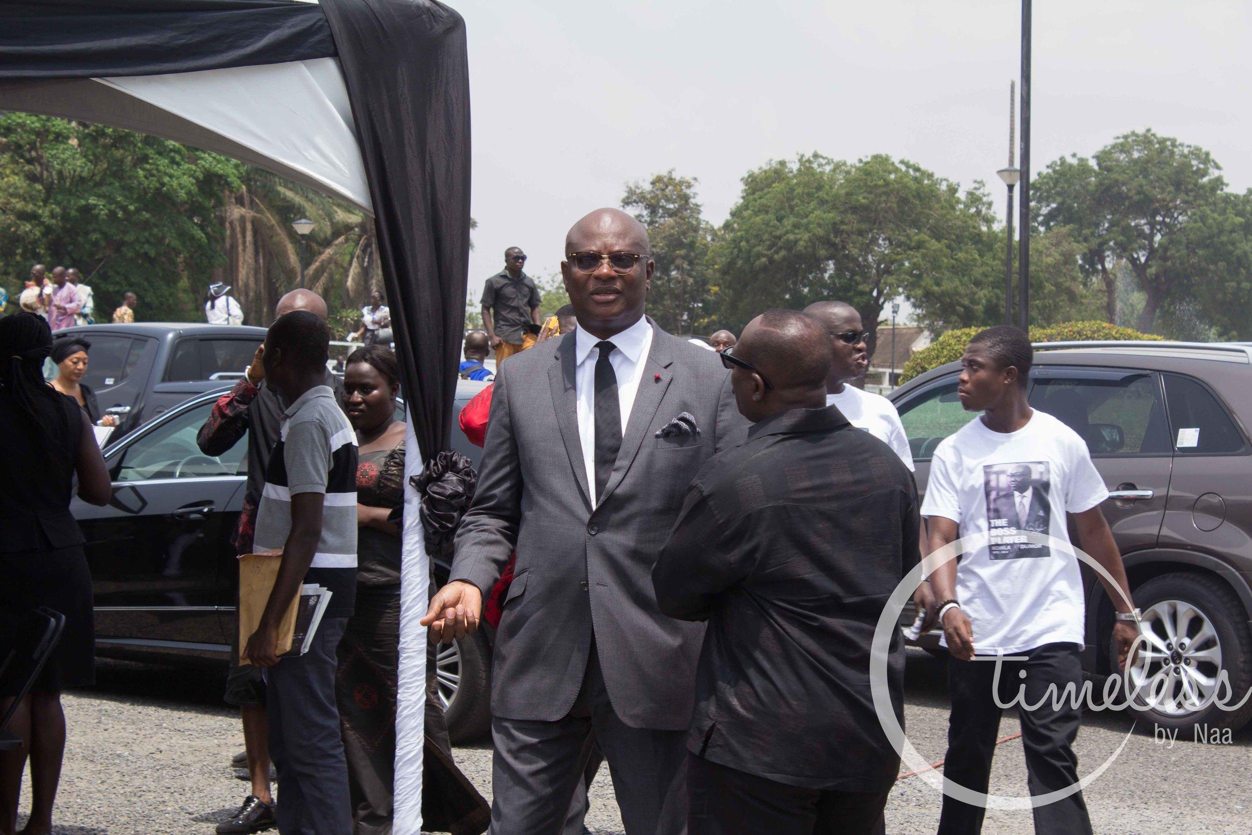 Kojo Bonsu, mayor of Kumasi