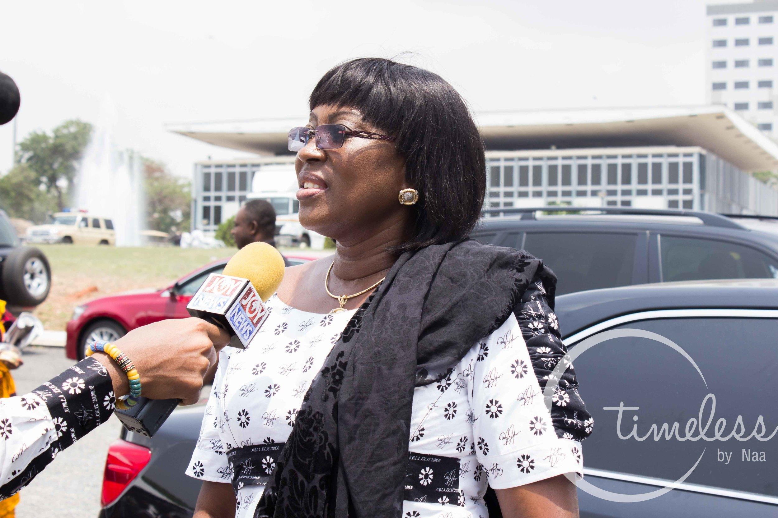 Minister of Transport - Hon. Dzifa Attivor
