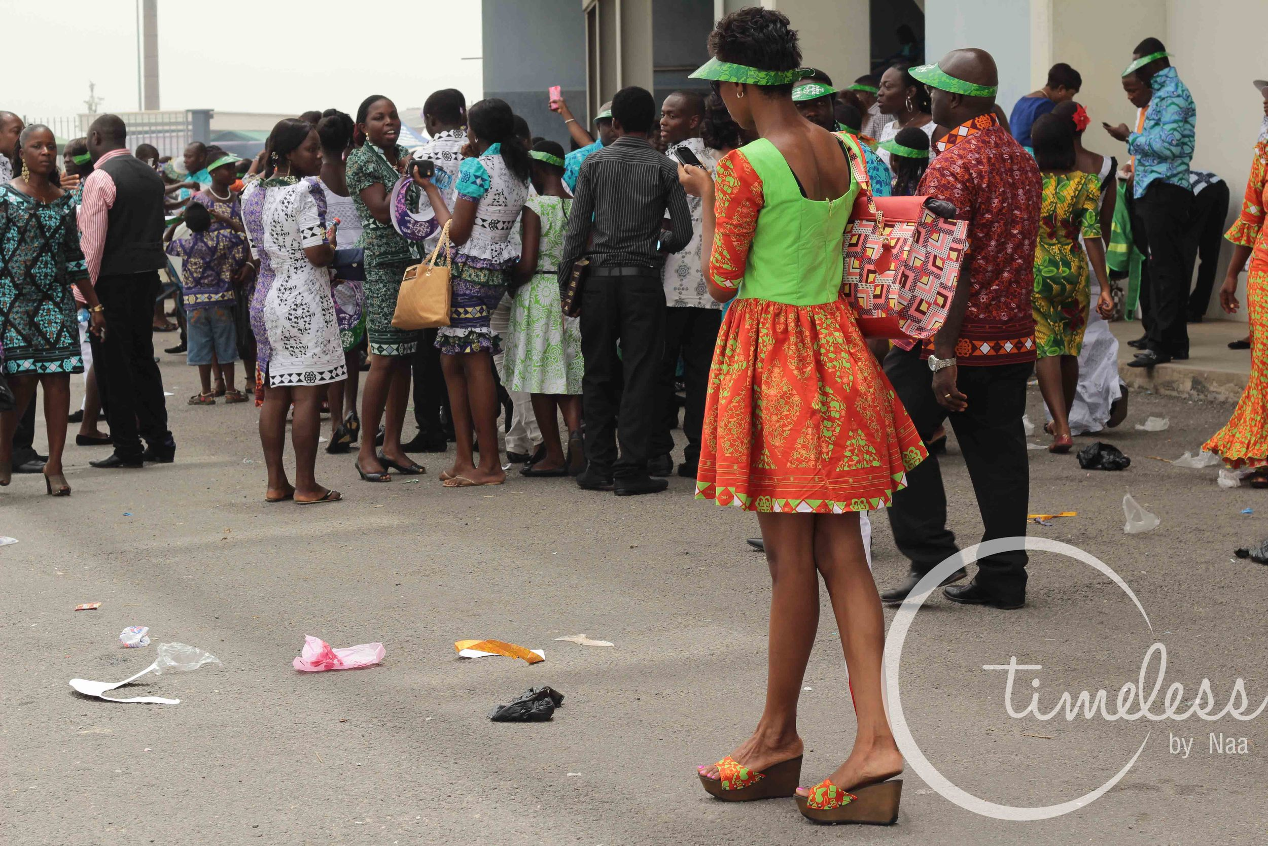 What do you think of the shoes? Although not appropriate for the event like most of the chale wote i saw around, its a good attempt.