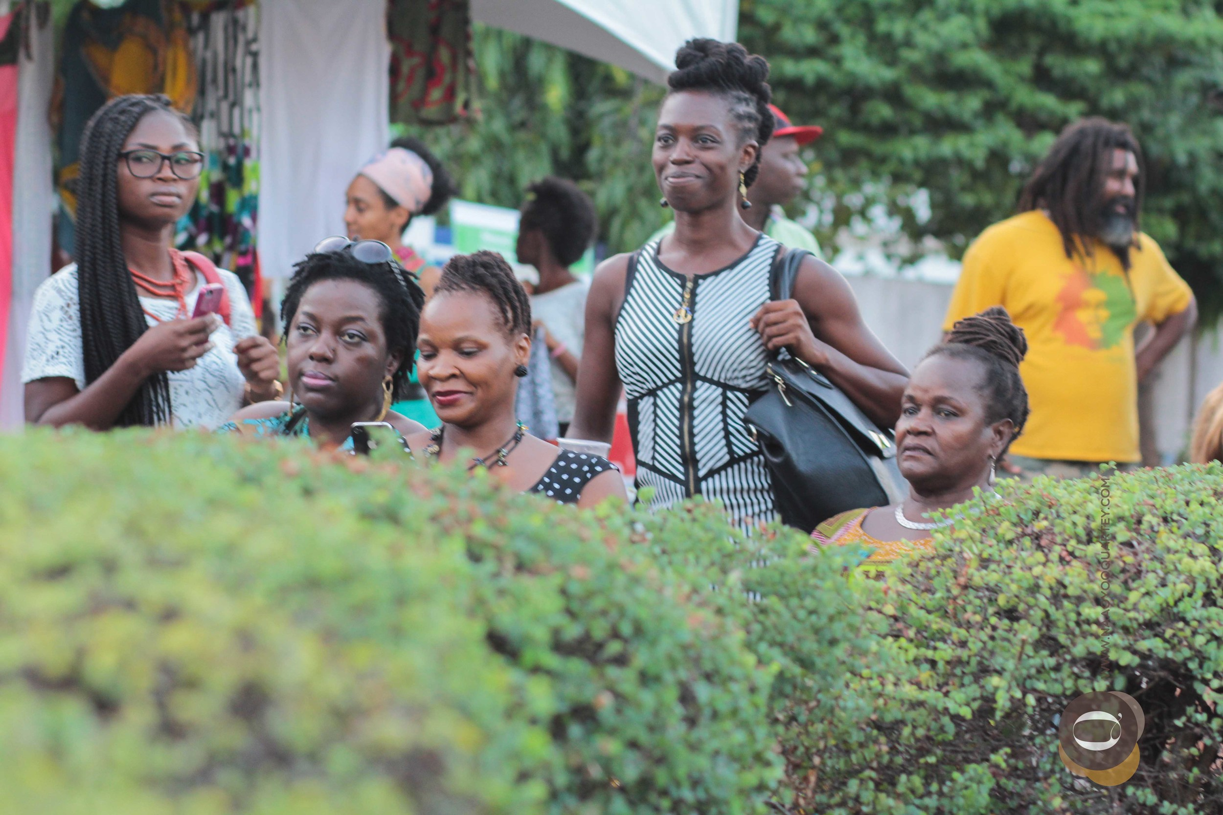 a section of participants during the spoken word session.