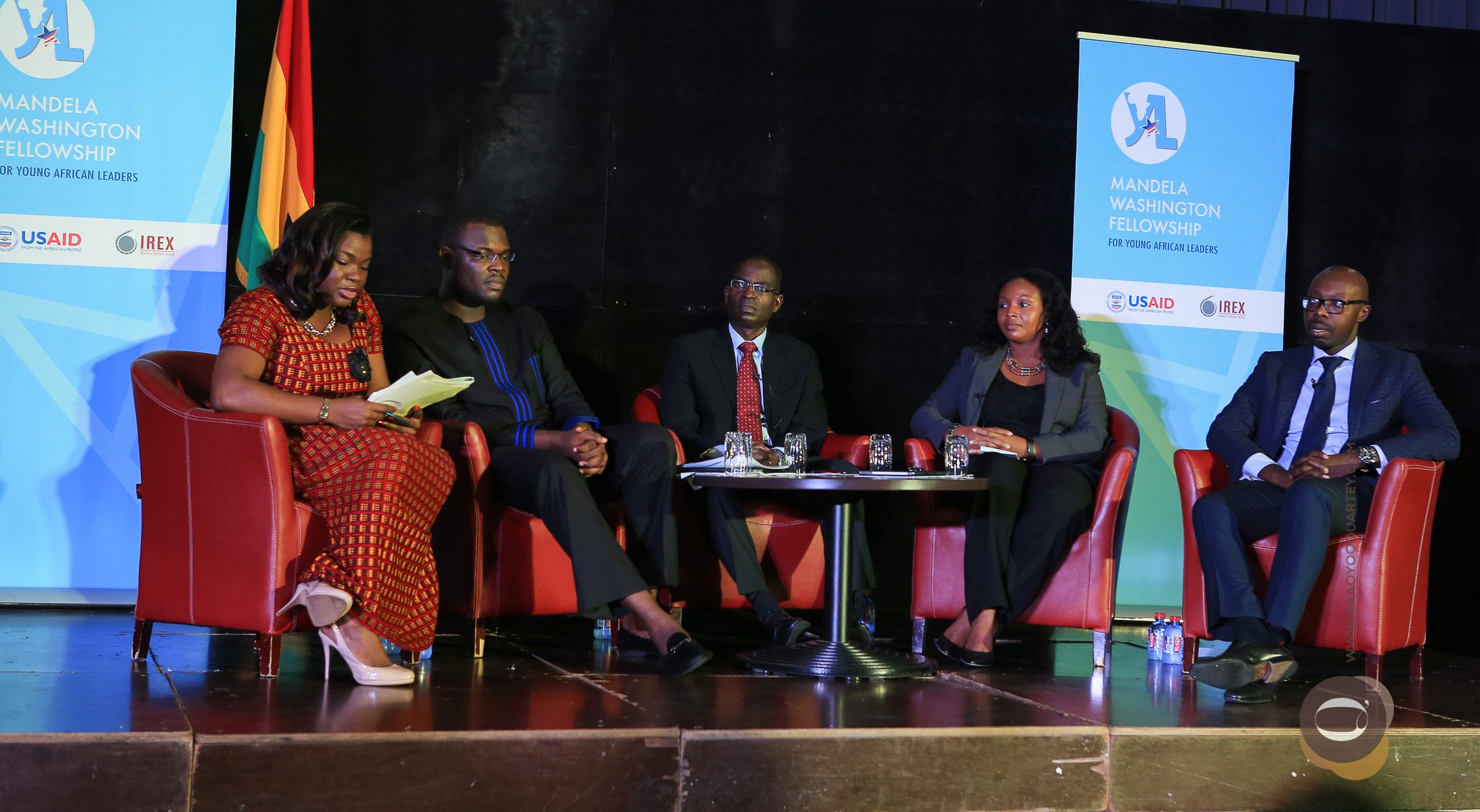 The panel on The Future of Africa