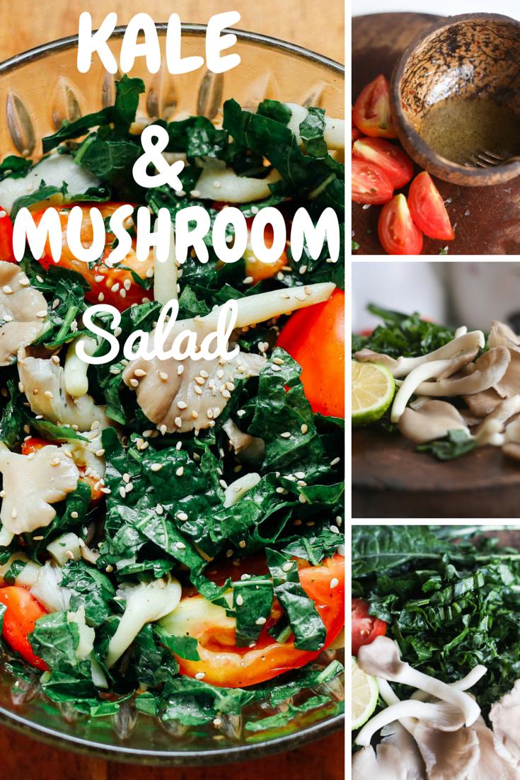 kale&mushroomsalad