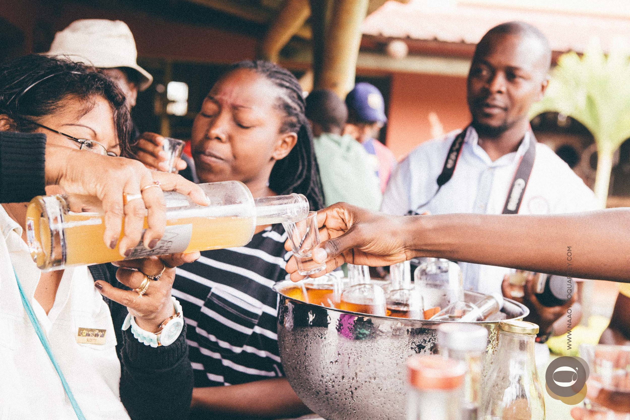 Rum Tasting. Hot rum!