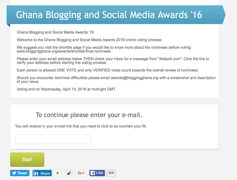 bloggingghanavoting