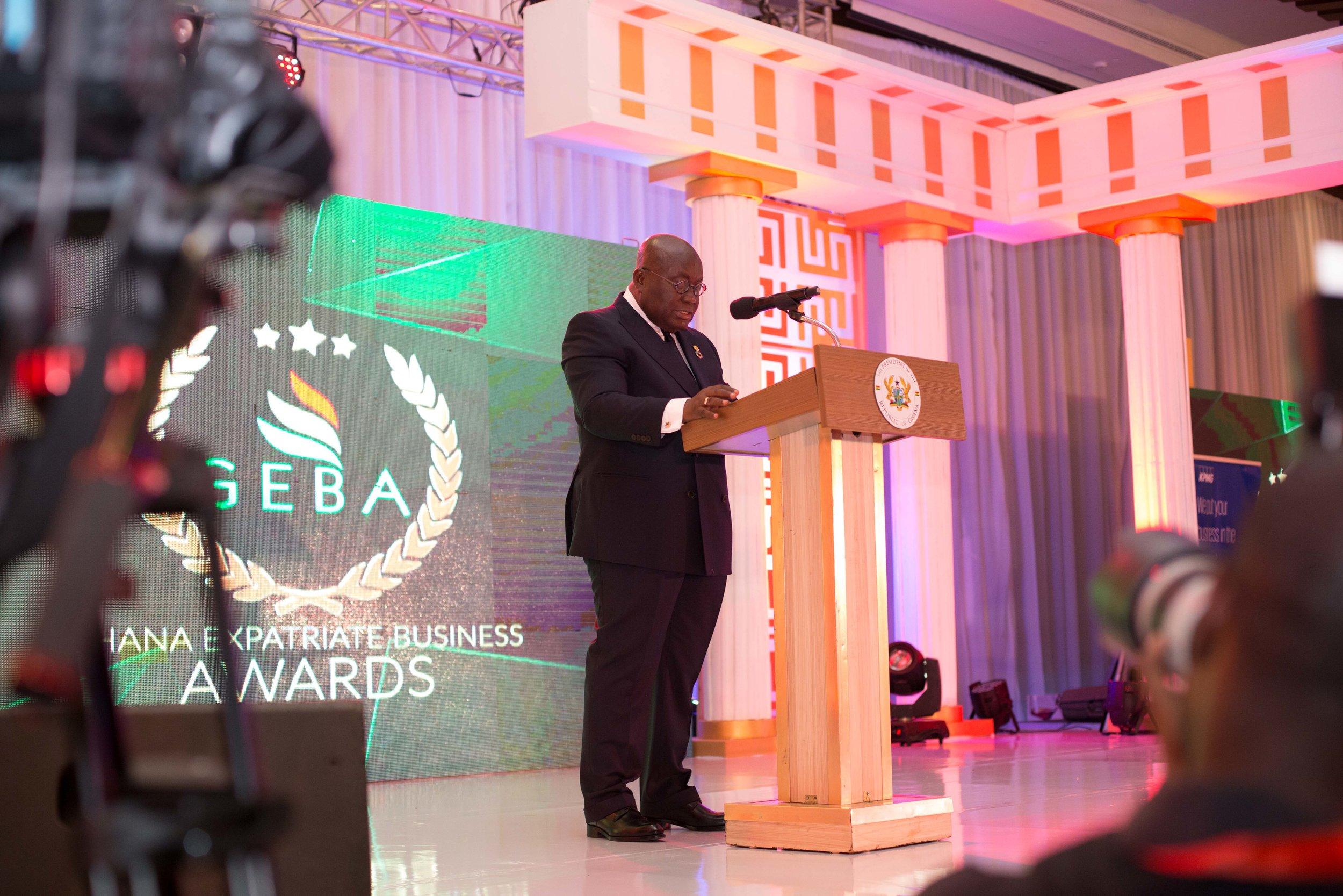 Keynote speaker His Excellency Nana Addo Dankwa Akufo-Addo