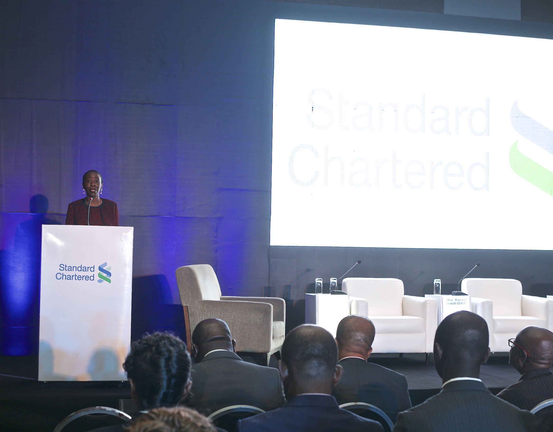 Mansa Nettey CEO of SCB Ghana