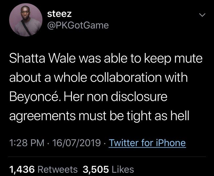 Shatta Wale And Tiwa Savage Collaboration 2019