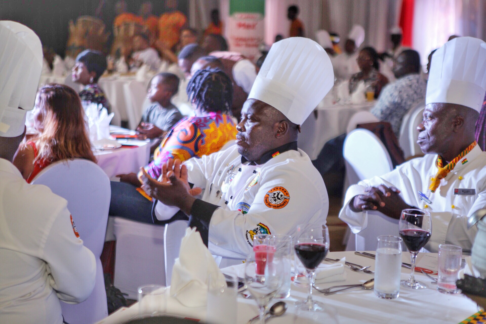 Members of the Chefs Association of Ghana