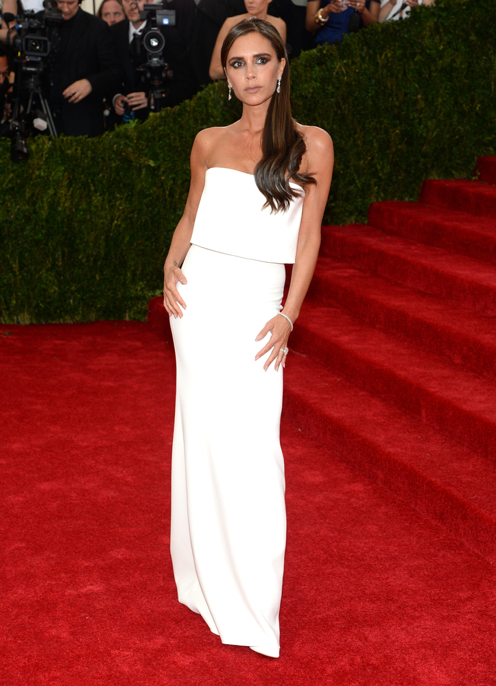 Would you believe us if we told you that Victoria Beckham was wearing a piece by Victoria Beckham? Well, she is!