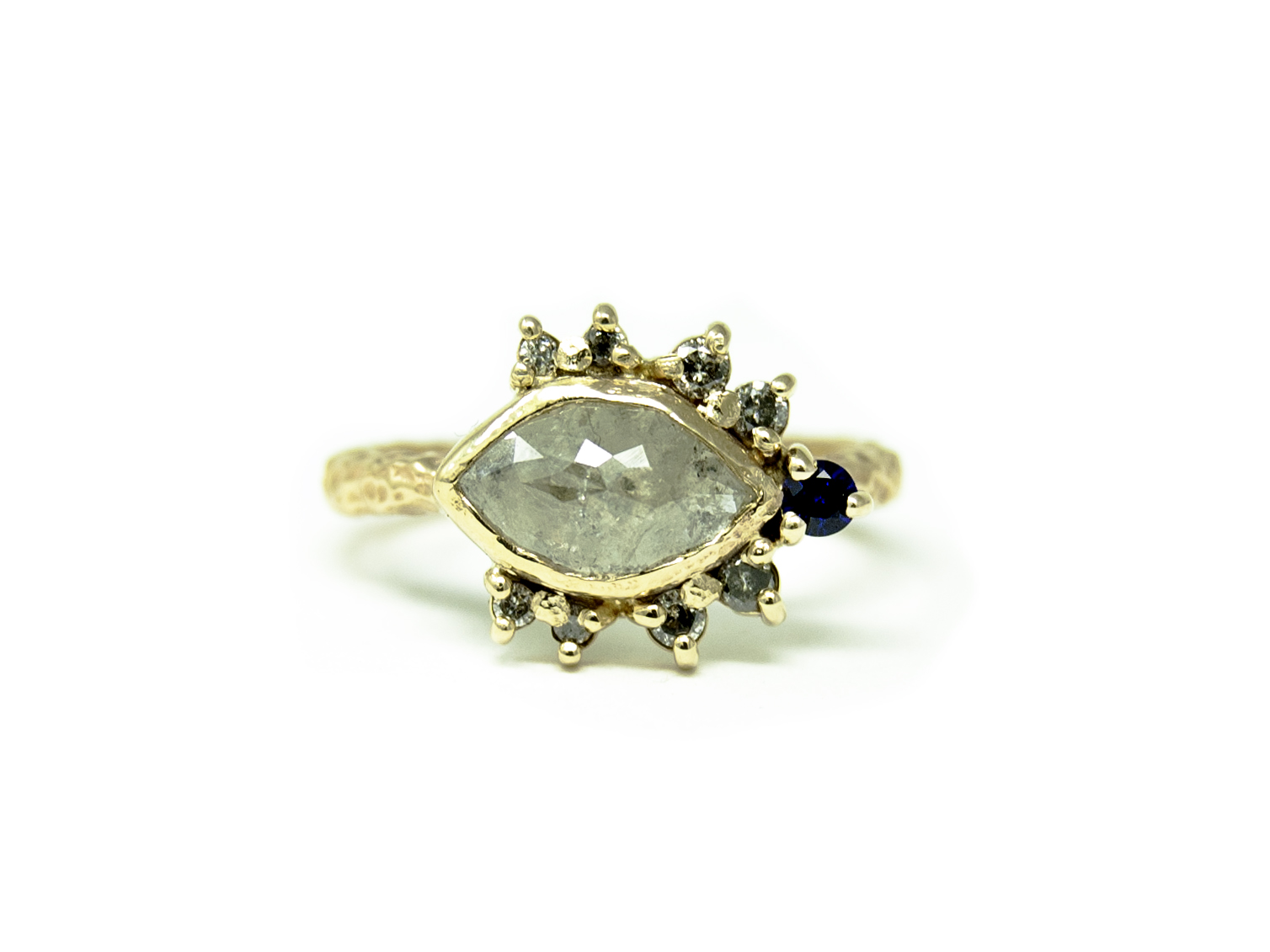 Show stopper! A beautiful one of a kind engagement ring for Mandy.