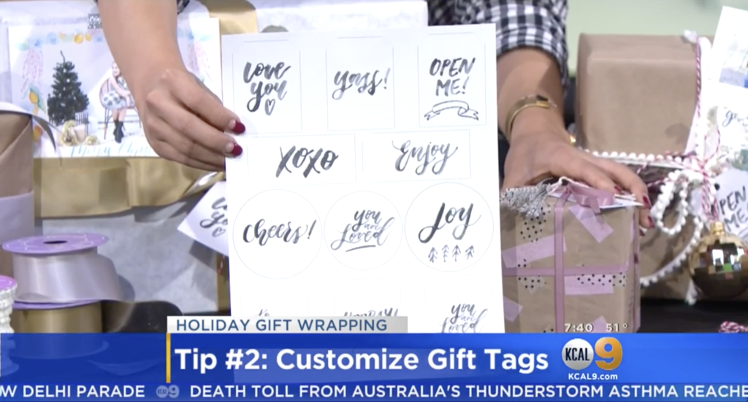 customized gift tags