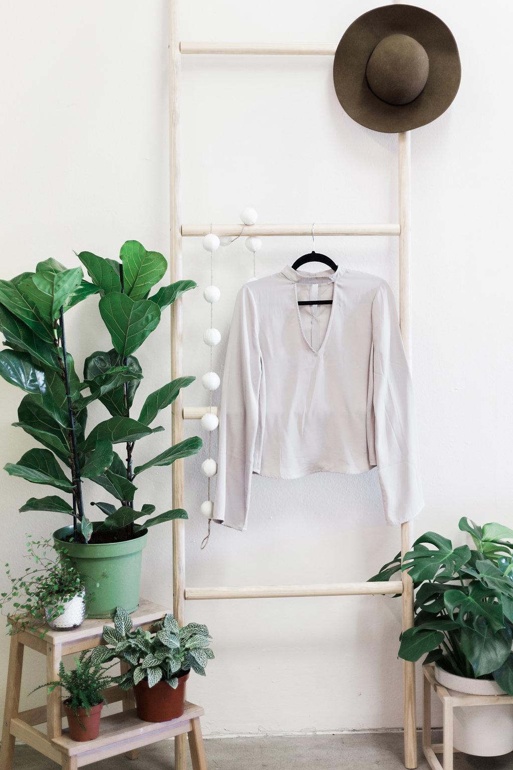 Cutout blouse