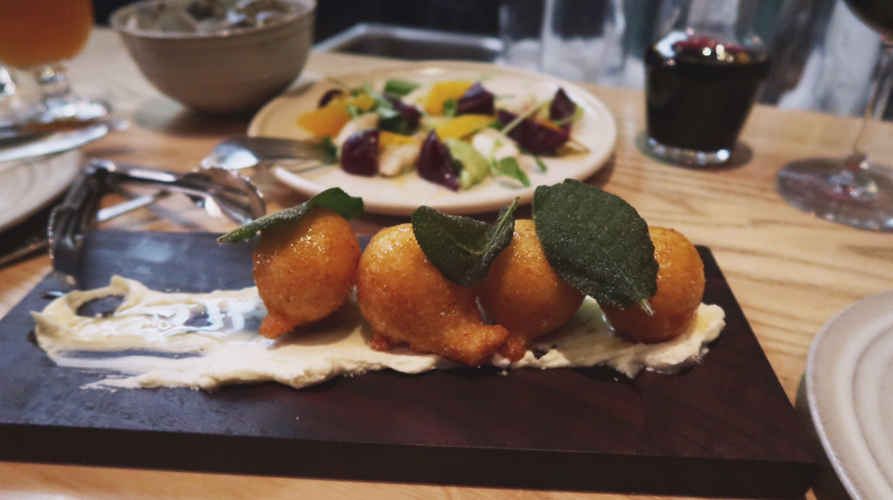 Staple & Fancy Mercantile (must order their fried polenta + ricotta cheese balls! YUM)