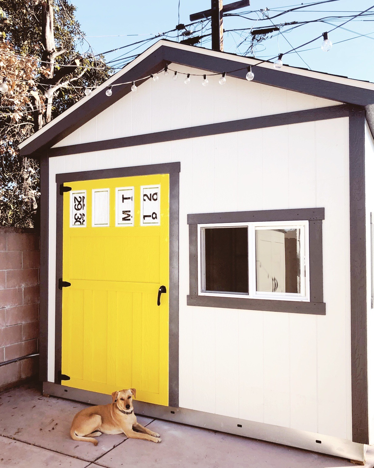 yellow+door+art+studio+shed