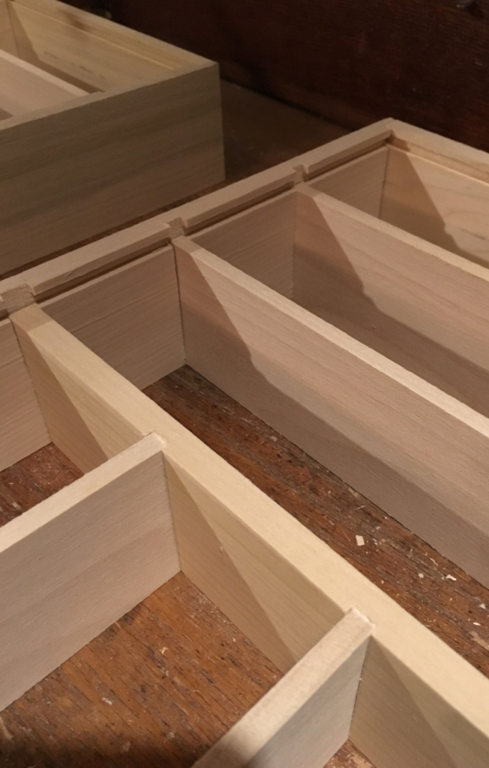 Custom Handcrafted Silverware Organizer Trays