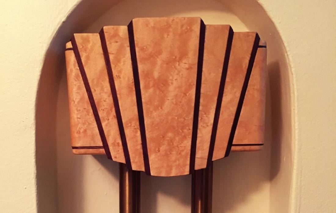 Custom Handmade Art Deco Style Door Bell Ringer Cover Photograph