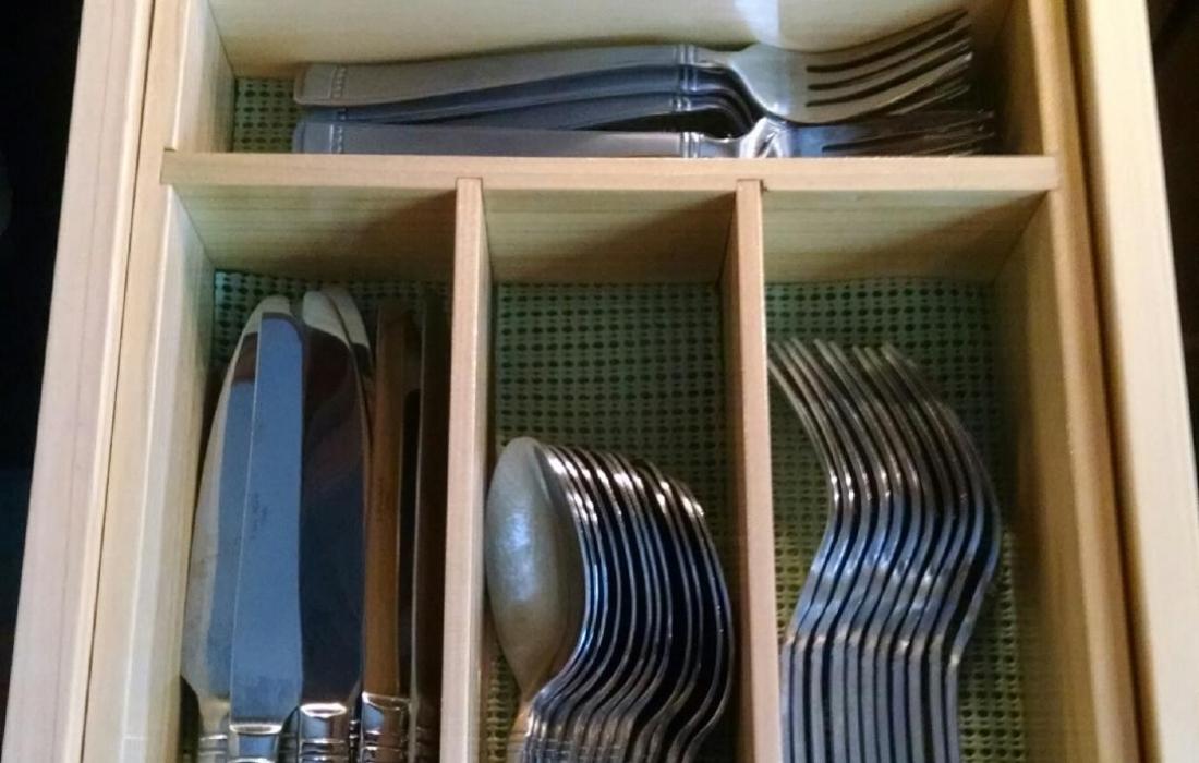 Custom Handmade Kitchen Utensil Storage Tray Photograph