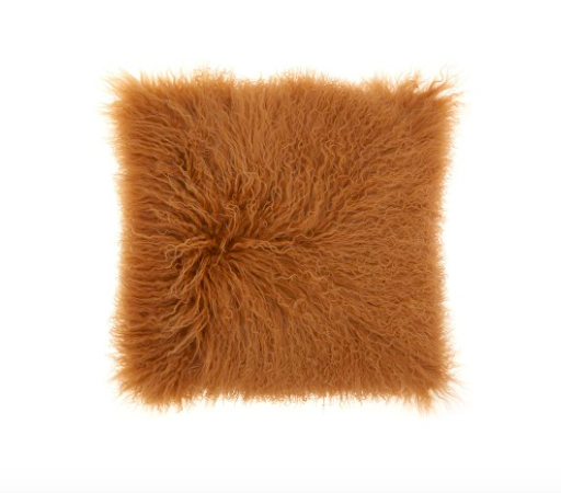 CAMEL WOOL PILLOW - buy here