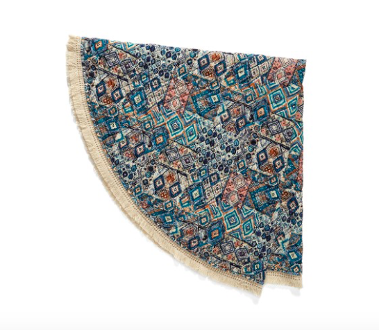 ROUND THROW BLANKET - buy here