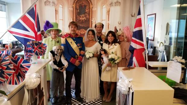 The Royal Wedding.