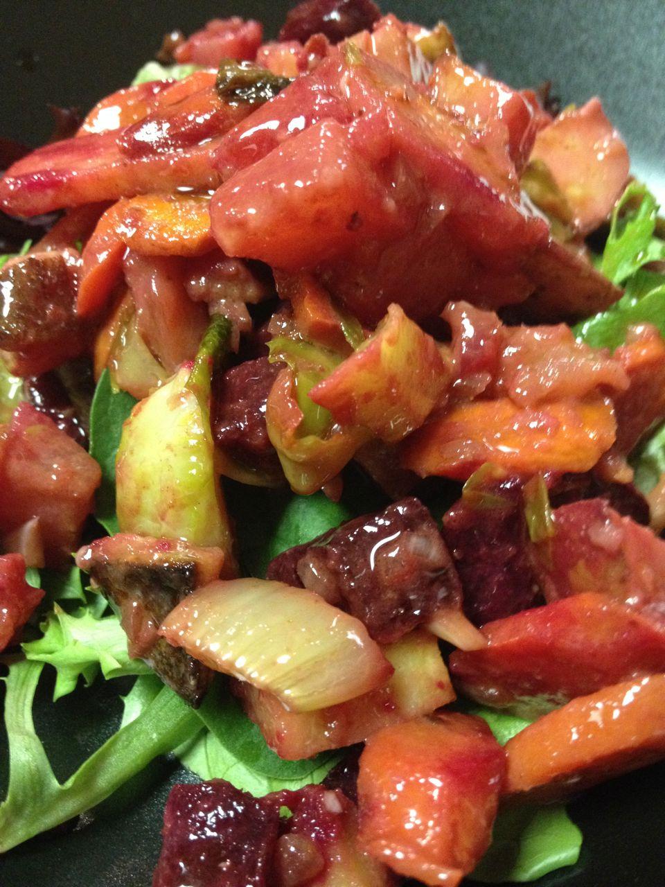 Chicken & Vegetable Flair