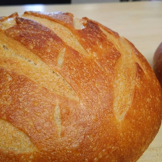 Fresh sourdough #indelaware #chefshaven #bread #sourdough