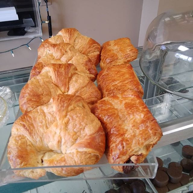 Croissants are ready! #indelaware #chefshaven #croissant