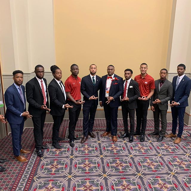 The Undergraduates of The Mighty South Central Province at the 84th Grand Chapter Meeting 👌🏾