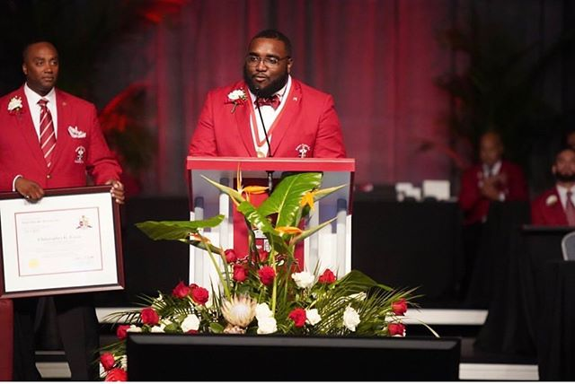 Congratulations to our Current Junior Grand Vice Polemarch Brother Chris Cross of Ole Miss the Lambda Pi of Kappa Alpha Psi, for being the 90th Guy L. Grant awardee