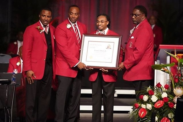 Congratulations to our Former Junior Vice Polemarch Brother Frank Burns of Austin Peay State University the Theta Beta of Kappa Alpha Psi, for being the 89th Guy L. Grant awardee