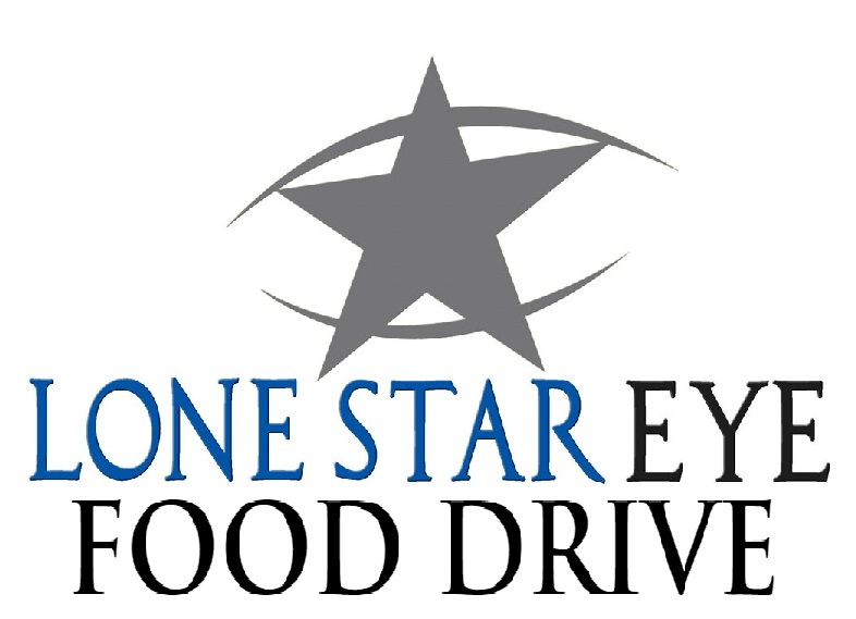 Lone Star Eye Food Drive