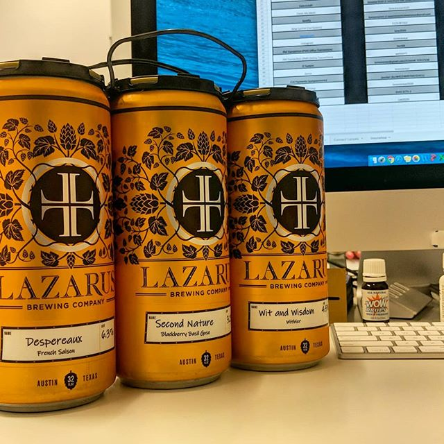 Just another wonderful gift from our favorite brewmaster and patient over at @lazarusbrewing How'd you know that Despereaux was my favorite!? Go visit Lazarus Brewing, you won't be disappointed