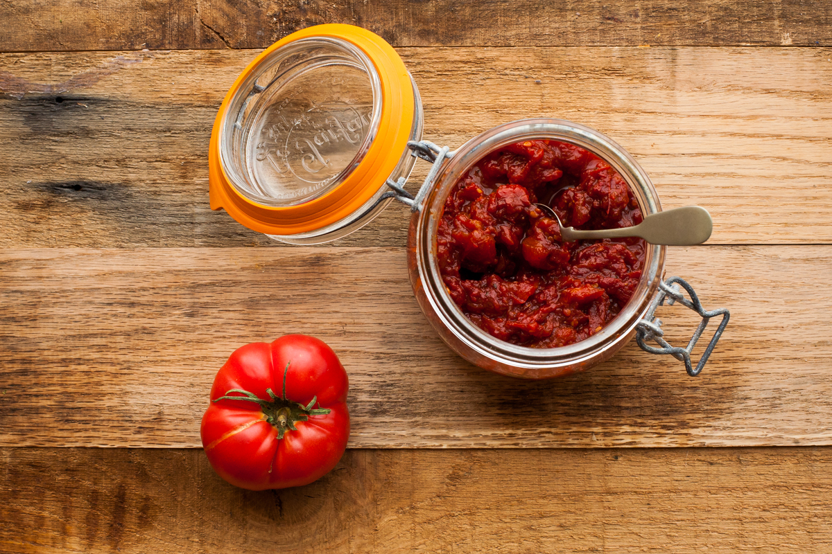 smoky tomato jam