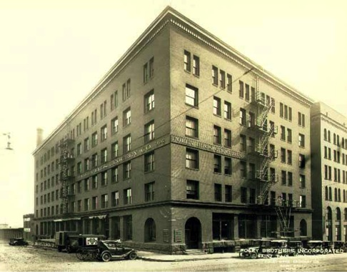 1915 Foley Brothers and Kelley Warehouse