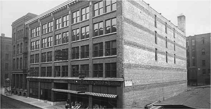 1910 Michaud Brothers Building