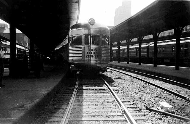 1939 Union Depot Railyards