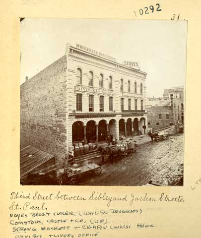 1870 Noyes Brothers and Cutler, Third Street between Sibley and Jackson Street  Lowertown.jpg