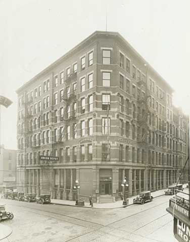 1924 Guiterman Brothers Building, Fourth and Sibley Street Lowertown.jpg