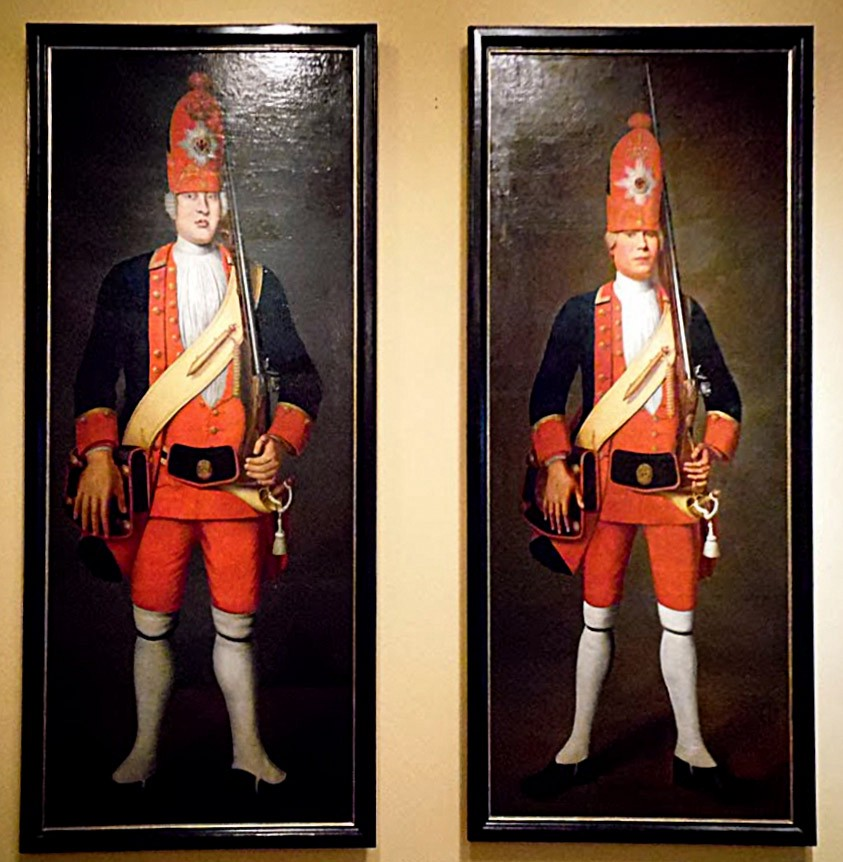 The Grand Grenadiers of Potsdam.