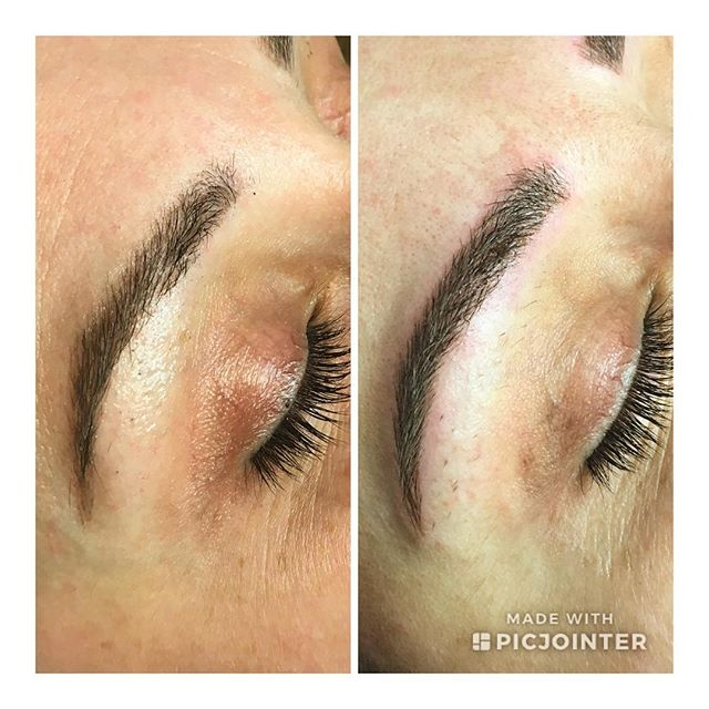 I've been meaning to post these beauties for far too long, as well as say thank you to the amazing @jessichaas for her trust! . Photo on left: healed 5 weeks after first session . Photo on right: immediately after perfecting session. . Swipe to see her before photo! . #microblading #microbladedbrows #tattooed #tattooedbrows #pma #semipermanent #browhealing #smallbusiness #nomakeupmakeup #browbabe #browboss #sweatproofbrows #wakeupready #nofuss #makeup #wakeupandgo #thearcherbrows #supportlocal #smallbusiness #shoplocal #salonmackk #crystallakeil