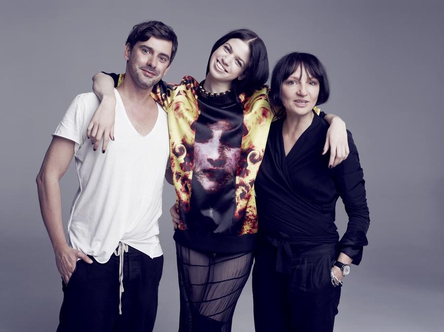 Marcin Tyszka, Lily McMenamy i Agnieszka  Ścibior /fot. Marcin Tyszka