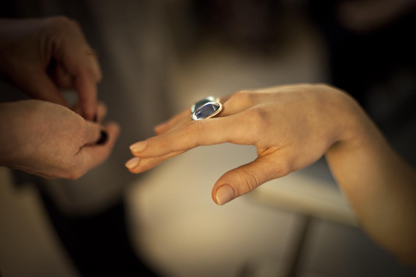 Oprawa pierścionków kamieniami Boheme/pierścionków