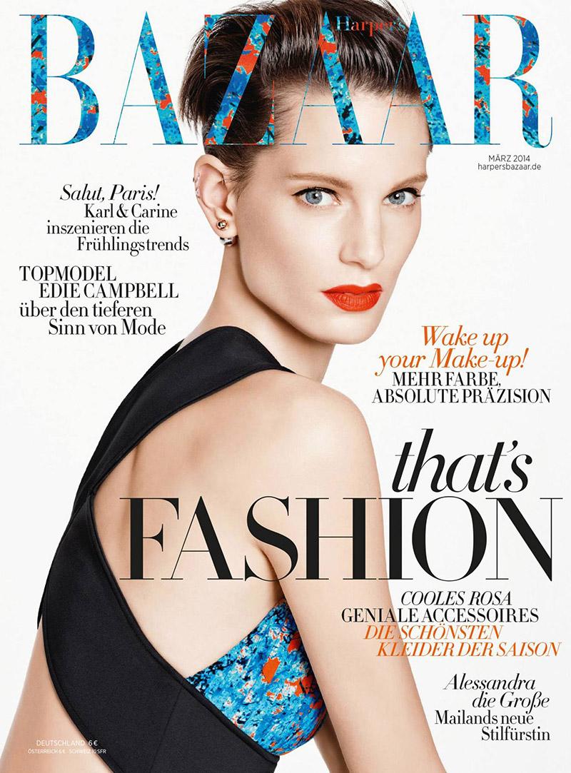Harper's Bazaar Germany, fot. Kacper Kasprzyk/mat. prasowe/  Harper's Bazaar Germany