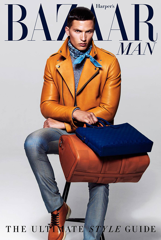 Okładka Harper's Bazaar Man Australia