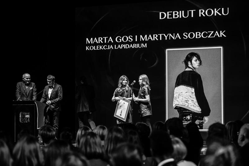 Marta Gos i Martyna Sobczak - Debiut Roku/fot. Maciej Stankiewicz dla DYKF