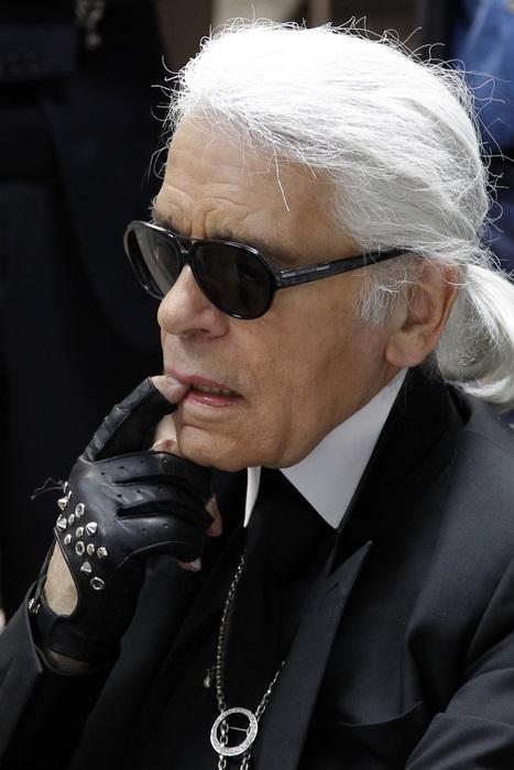 Karl Lagerfeld/fot. Agencja FORUM