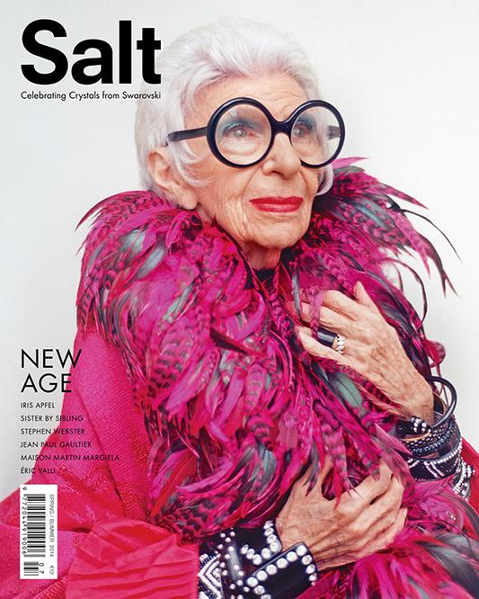 Iris Apfel na okładce Salt  /mat. prasowe Salt
